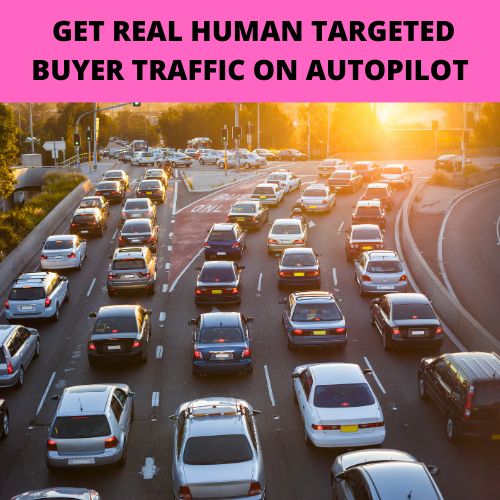 GET REAL HUMAN TARGETED BUYER TRAFFIC ON AUTOPILOT